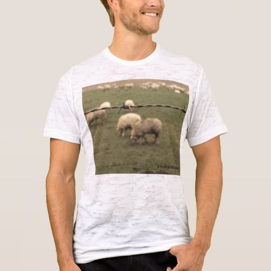 Behind the Wire Mens Vintage T T-Shirt