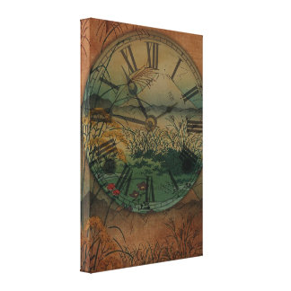 Behind Time Canvas Print