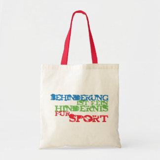 Behinderung ist kein Hindernis für Sport Tote Bag