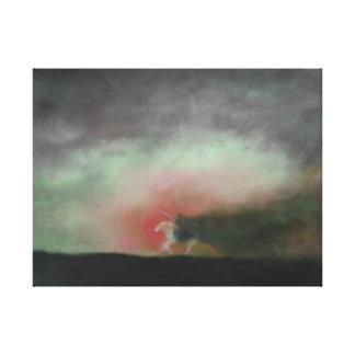 Behold a Pale Horse Canvas Print