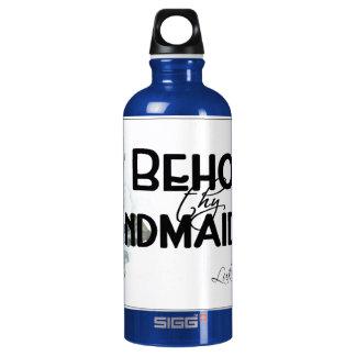 Behold al handmaid…. botella de agua