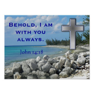 Behold I am with you Print