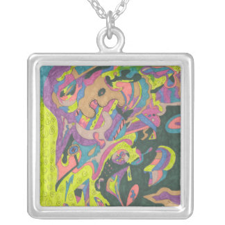 Behold, Original Abstract Necklace