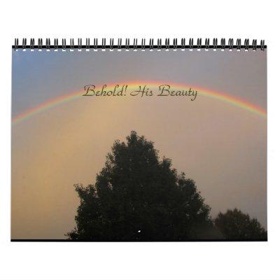 ¡Behold! Su belleza Calendarios
