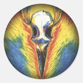 Behold! The Bone-White Bird Stickers