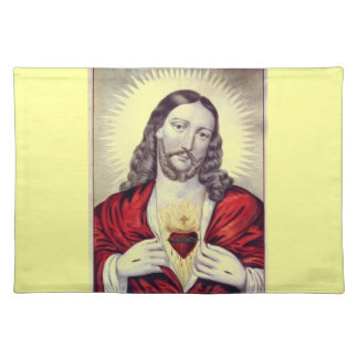 Behold the Christ placemat