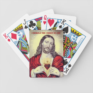 Behold the Christ playing cards