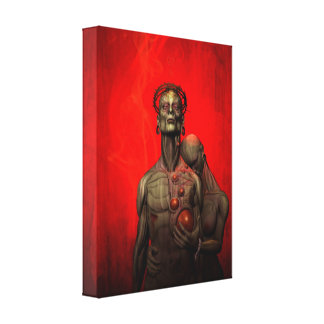 Behold The Flesh CANVAS Stretched Canvas Prints
