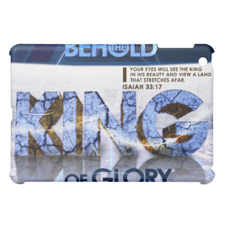 Behold the King iPad Case