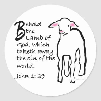 Behold The Lamb Of God Gifts on Zazzle