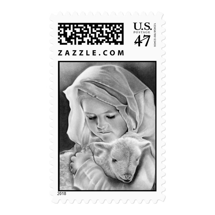 Behold the Lamb of God Postage