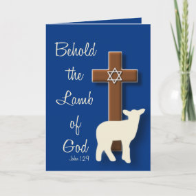 Easter Lamb Christ Sacrifice Cross