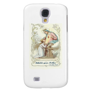 'Behold Your Mother' Blessed Virgin Mary Items Galaxy S4 Covers
