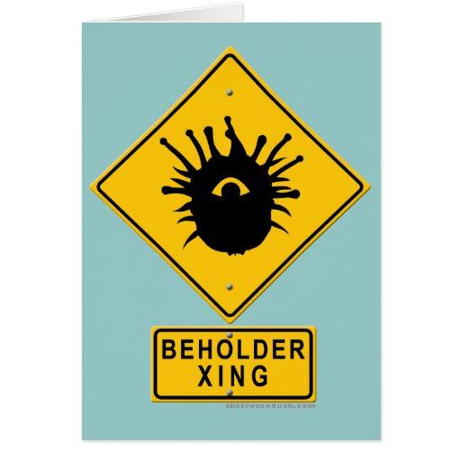 Beholder XING Card