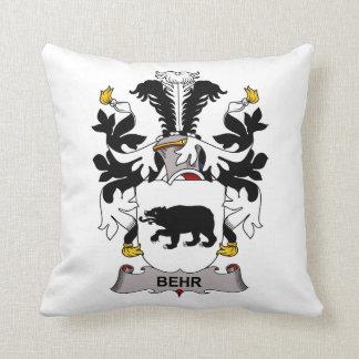 Behr Family Crest Pillow