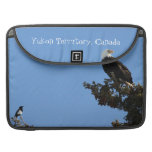 BEIAM Bald Eagle Ignores a Magpie MacBook Pro Sleeve