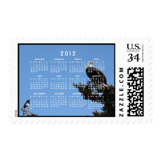 BEIAM Bald Eagle Ignores a Magpie Postage Stamp
