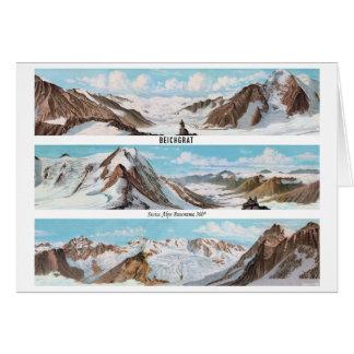 BEICHGRAT Swiss Alps Panorama 360° Card