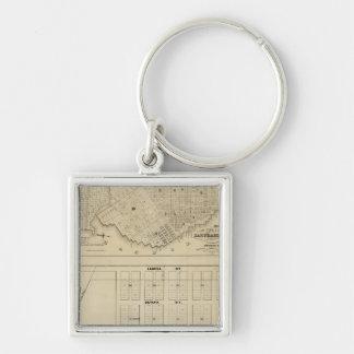 Beideman Tract, San Francisco Keychain