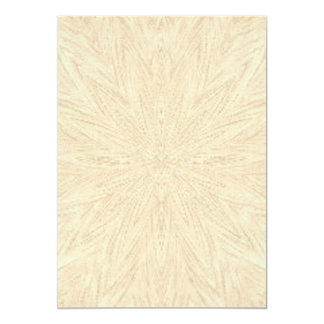 """beige abstract pattern textured background 5"""" x 7"""" invitation card"""