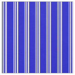 [ Thumbnail: Beige and Blue Colored Pattern Fabric ]