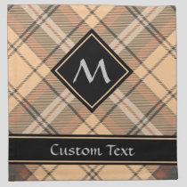 Beige and Brown Tartan Cloth Napkin
