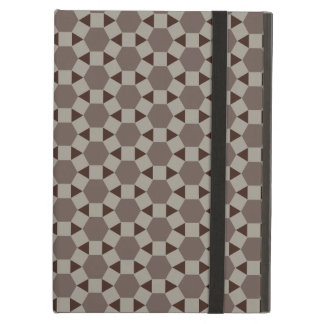 Beige and Browns Geometric Tessellation Pattern iPad Air Covers