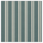[ Thumbnail: Beige and Dark Slate Gray Colored Lines Fabric ]