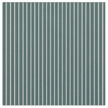 [ Thumbnail: Beige and Dark Slate Gray Colored Stripes Pattern Fabric ]