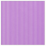 [ Thumbnail: Beige and Dark Violet Stripes Fabric ]