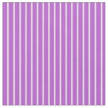 [ Thumbnail: Beige and Orchid Colored Lines/Stripes Pattern Fabric ]