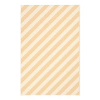 Beige and Tan Stripe Pattern. Flyer