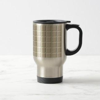 Beige Bevel 15 Oz Stainless Steel Travel Mug