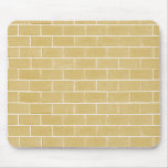 beige brick background mouse mat