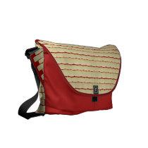 Beige Brick Bag on Brick red foundation