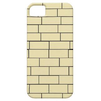 Beige Brick Wall iPhone 5 Case
