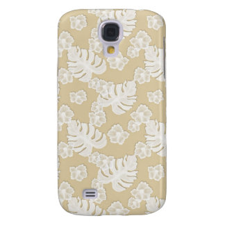 Beige Brown Floral Pattern Iphone 3g 3gs Speck Cas Samsung Galaxy S4 Cover