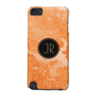 Beige & Brown Marble Texture Print iPod Touch (5th Generation) Cover