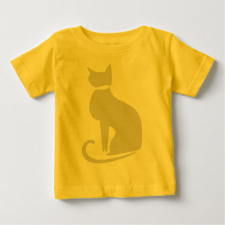 Beige Cat Infant T-shirt