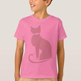 Beige Cat Kids' T-shirt