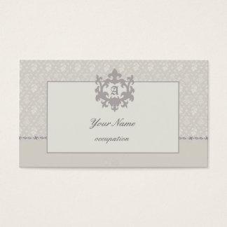 Beige Classic Business Card