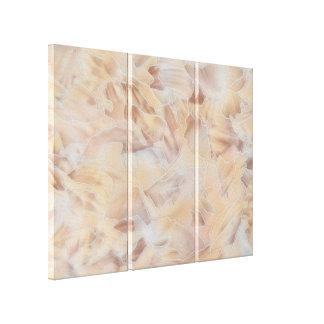 Beige Contemporary Gallery Wrap Canvas