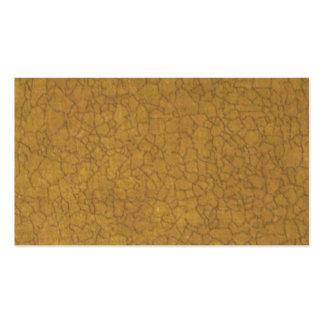 Beige Crackle Standard Business Cards