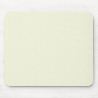 Beige-Cream-And-White-Polka-Dots Mouse Pad