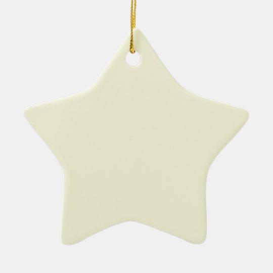 Beige Cream  Elegant Fashion Color Ceramic Ornament