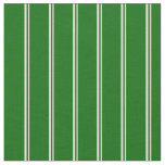 [ Thumbnail: Beige & Dark Green Colored Lines/Stripes Pattern Fabric ]