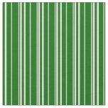 [ Thumbnail: Beige & Dark Green Lined Pattern Fabric ]