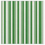 [ Thumbnail: Beige & Dark Green Pattern Fabric ]