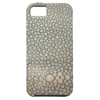 Beige de Shagreen iPhone 5 Carcasa