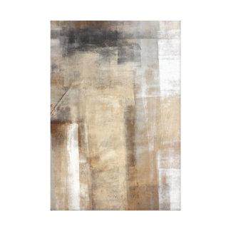 """""""Beige del estilo del hombre"""" y arte abstracto de Impresiones En Lienzo Estiradas"""